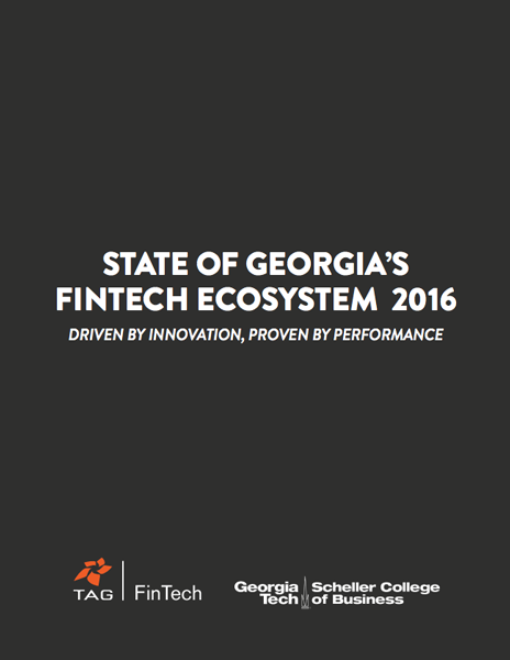 2016 TAG FinTech Ecosystem Report